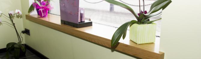 Täispuidust aknalaud
