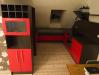 Julge värvilahendusega köögimööbel