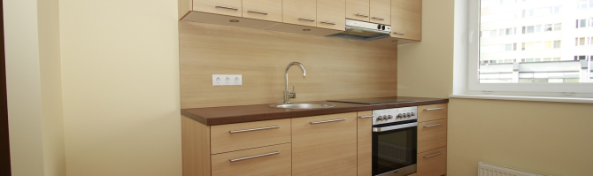 Pastellvärvides köök